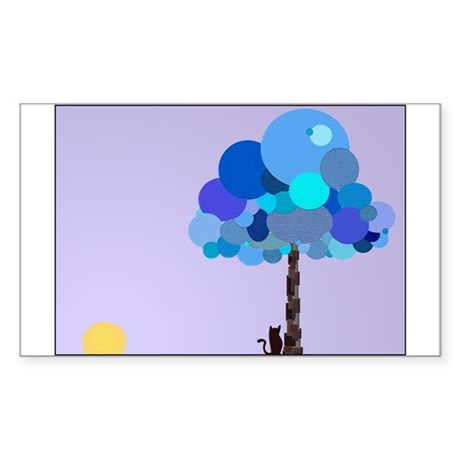 Syd and the Blueberry Tree Rectangle Sticker 10 p