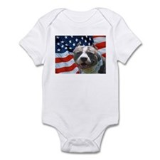 American Pit Bull Infant Bodysuit