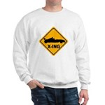 Race Car X-ing Sweatshirt