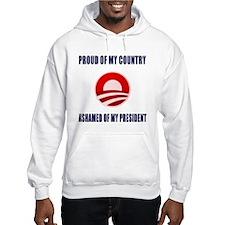 Ashamed Of Obama Hoodie
