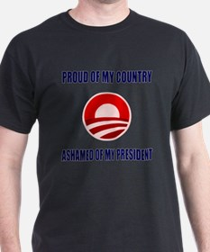 Ashamed Of Obama T-Shirt