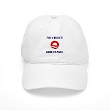 Ashamed Of Obama Baseball Cap