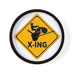 ATV X-ing Wall Clock