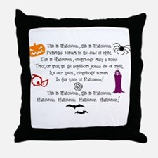 This is Halloween (Kids) Throw Pillow