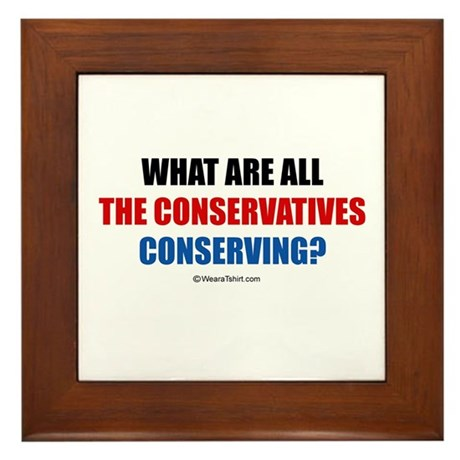 What are all the conservatives conserving? - Fram