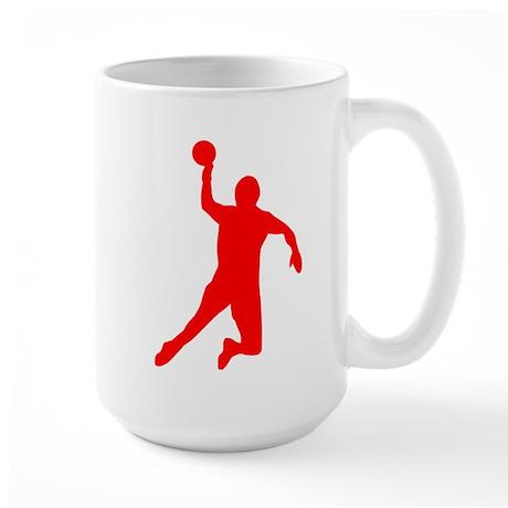 Handball Large Mug
