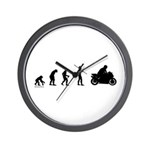 Motorcycle Evolution Wall Clock