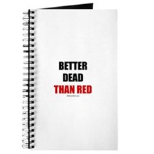Better dead than red - Journal