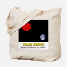 Solar Energy: Free Delivery Tote Bag