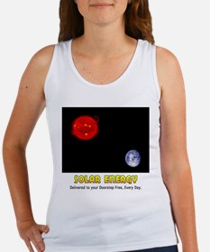Solar Energy: Free Delivery Women's Tank Top
