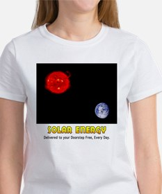 Solar Energy: Free Delivery Women's T-Shirt