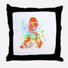 Leukemia Awareness & Support Throw Pillow