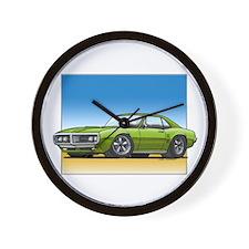Olive 67-68 Firebird Wall Clock