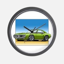 Olive 67-68 Firebird Wall Clock