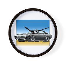 Black 67-68 Firebird Wall Clock
