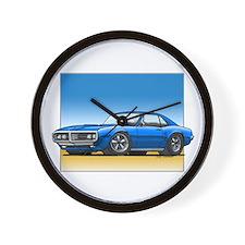 Blue 67-68 Firebird Wall Clock
