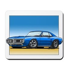 Blue 67-68 Firebird Mousepad