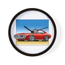 Red 67-68 Firebird Wall Clock