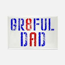 GR8FUL DAD (8) Rectangle Magnet