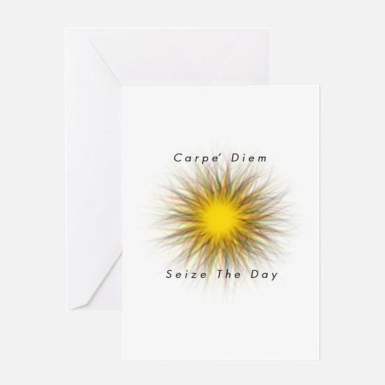 Carpe' Diem Greeting Card
