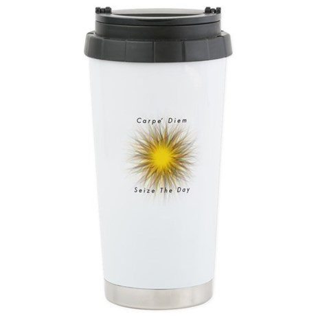 Carpe' Diem Stainless Steel Travel Mug