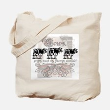 Favorite Cow Tote Bag