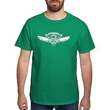 Aerosmack Dark Winged Skull T-Shirt
