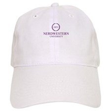 Nerdwestern University Baseball Cap