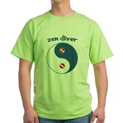 http://i3.cpcache.com/product/402156785/zen_diver_tshirt.jpg?color=Green&height=240&width=240