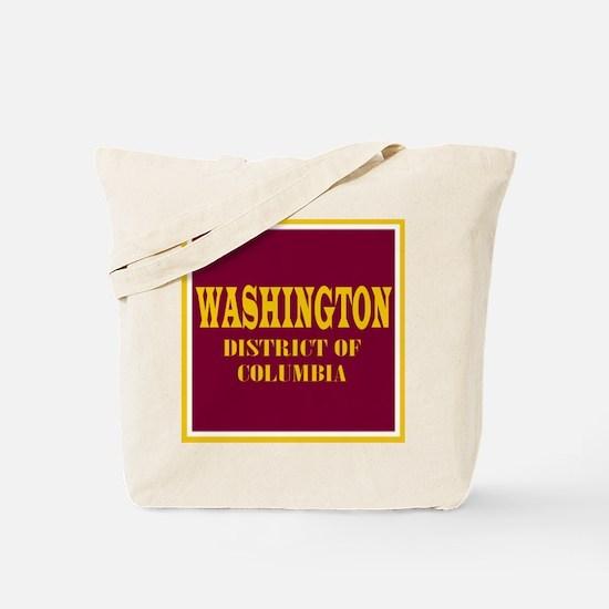 Washington District of Columbia Tote Bag