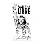 Liberty to Palestine Rectangle Sticker 50 pk)