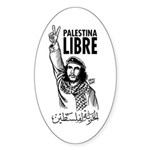 Liberty to Palestine Oval Sticker
