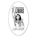 Liberty to Palestine Oval Sticker