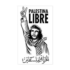 Liberty to Palestine Rectangle Decal