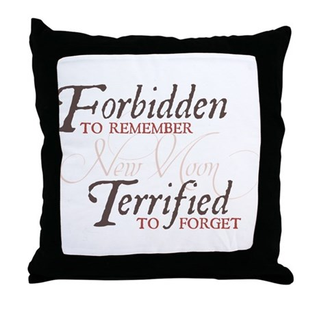 Forbidden to Remember Throw Pillow