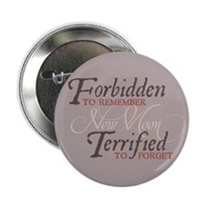 """Forbidden to Remember 2.25"""" Button"""