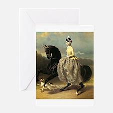 Equine Elegance Greeting Card
