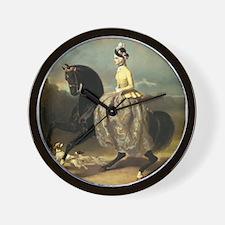 Equine Elegance Wall Clock