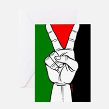 Victory fo Palestine Greeting Card