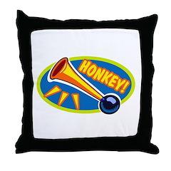 HONKEY! Throw Pillow