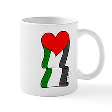 Love Palestine Mug