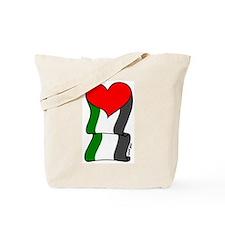 Love Palestine Tote Bag