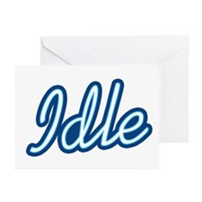 Idle Greeting Cards (Pk of 10)