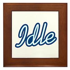 Idle Framed Tile