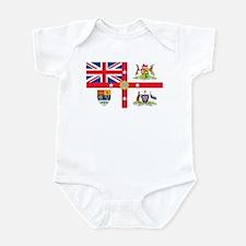 British Empire Flag Infant Bodysuit