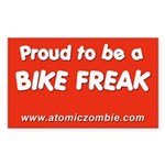 "Bike Freak (Rectangle 10 pk) 3"" x 5"""