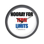 Hooray for Term Limits -  Wall Clock