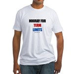 Hooray for Term Limits -  Fitted T-Shirt
