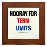 Hooray for Term Limits - Framed Tile
