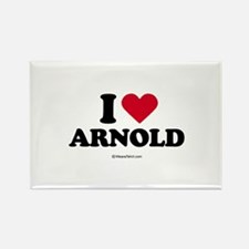 I Love Arnold - Rectangle Magnet